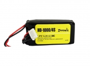 D-Power HD-1000 4S Lipo (14,8V) 30C - mit BEC Stecker